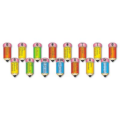 Scholastic Phonetic Pencils Bulletin Board Set