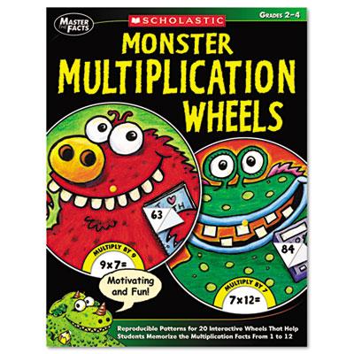 Scholastic Monster Multiplication Wheels