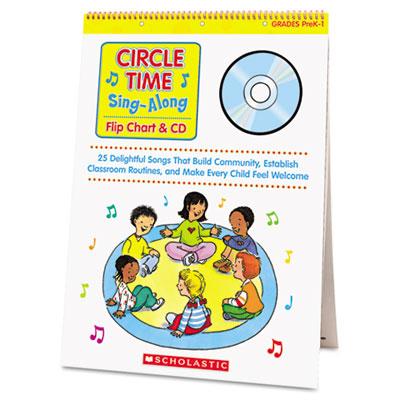 Scholastic Circle Time Sing-Along Flip Chart & CD