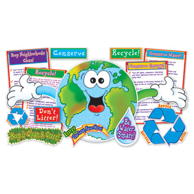 """Scholastic """"Love Our Planet"""" Bulletin Board Set"""