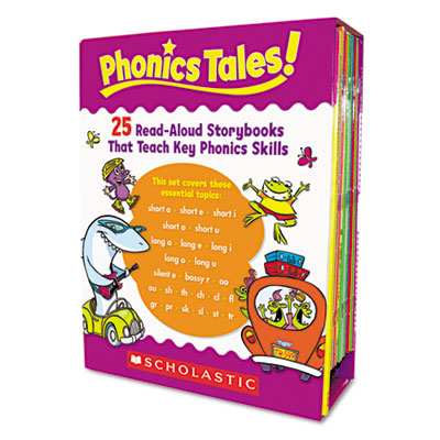 Scholastic Phonics Tales: 25 Read-Aloud Storybooks