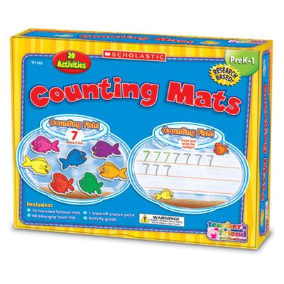 Scholastic Learning Mats Kit