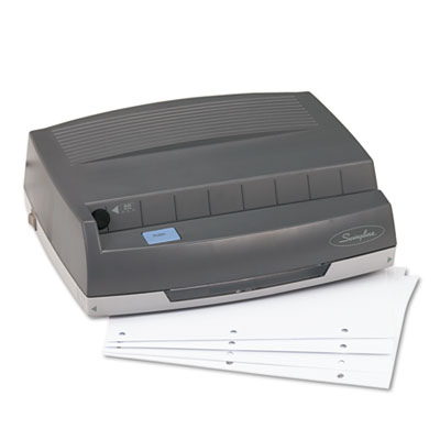 Swingline® 50-Sheet Electric Three-Hole Punch