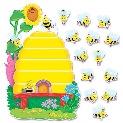 TRENDreg Busy Bees Job Chart Plus Bulletin Board Set