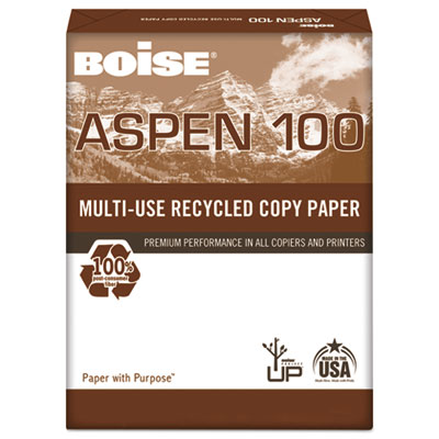 Boise® ASPEN® 100 Multi-Use Recycled Paper