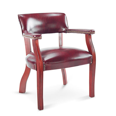 Alera® Traditional Series Guest Arm Chair
