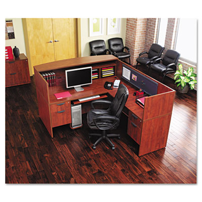 Alera® Valencia Series Straight Front Desk Shell