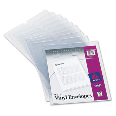 Avery® Heavyweight Clear Vinyl Envelope