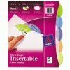 Avery® Insertable Style Edge™ Tab Plastic Dividers