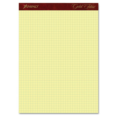 Ampad® Gold Fibre® Canary Quadrille Pads