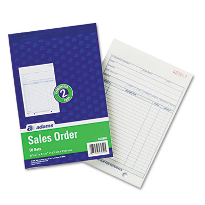 Adams® Sales/Order Book