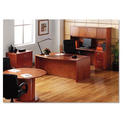 Alera® Verona Veneer Series Bow Front Desk Shell