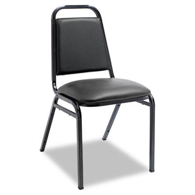 Alera® Padded Steel Stacking Chair
