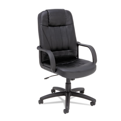 Alera® Sparis Executive High-Back Swivel/Tilt Leather Chair