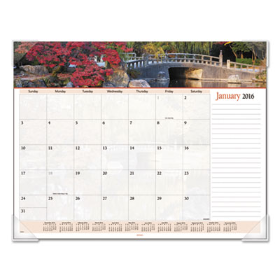 AT-A-GLANCE® Landscape Panoramic Desk Pad