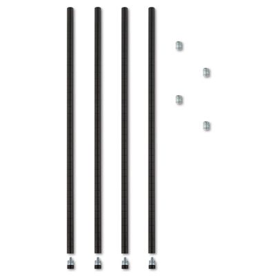 Alera® Wire Shelving Stackable Posts