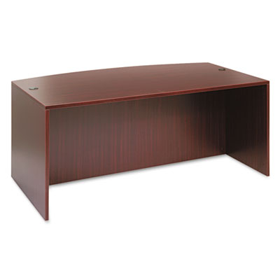 Alera® Valencia Series Bow Front Desk Shell