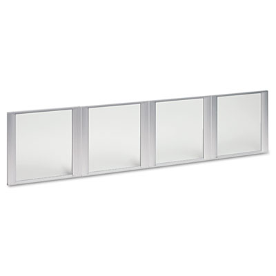 Alera® Glass Door Set For Hutch