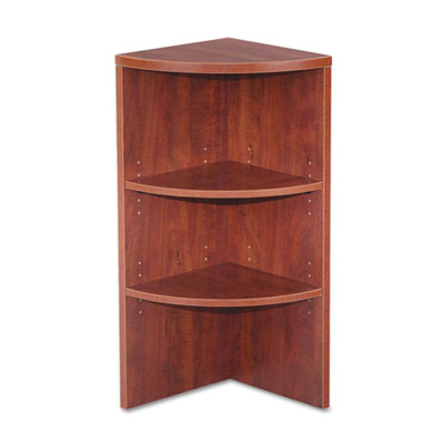 Alera® Valencia Series Quarter Round Lower Bookcases