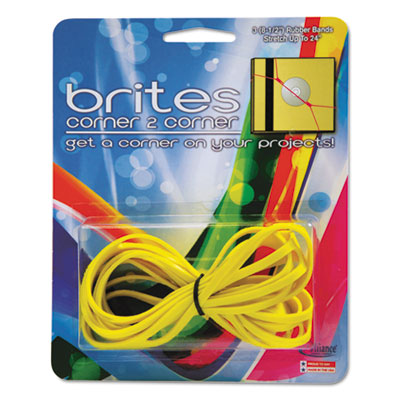 Alliance® Brites® Corner-To-Corner™ Rubber Bands