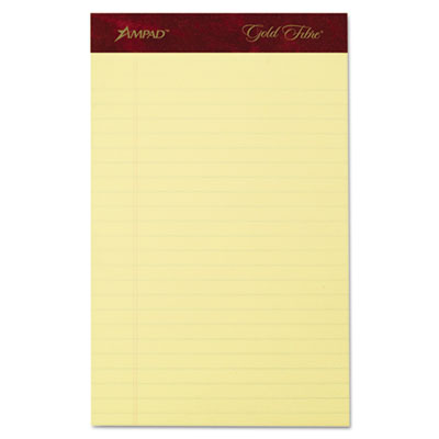 Ampad® Gold Fibre® 20-lb. Watermarked Writing Pads