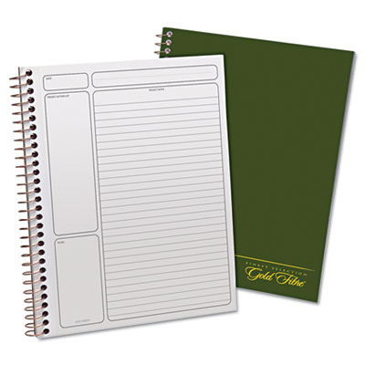 Ampad® Gold Fibre® Wirebound Writing Pad with Cover