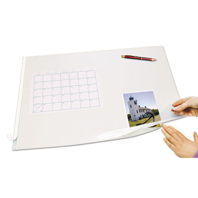 Artistic® Second Sight Clear Plastic Desk Protector