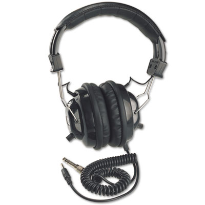 AmpliVox® Deluxe Stereo Headphones with Mono Volume Control