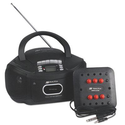 AmpliVox® Six-Station Listening Center/Boombox