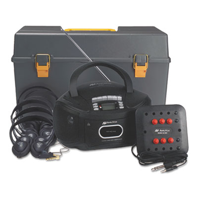 AmpliVox® Personal Six-Station Listening Center