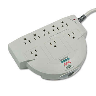 APC® Eight-Outlet Professional SurgeArrest Surge Protector