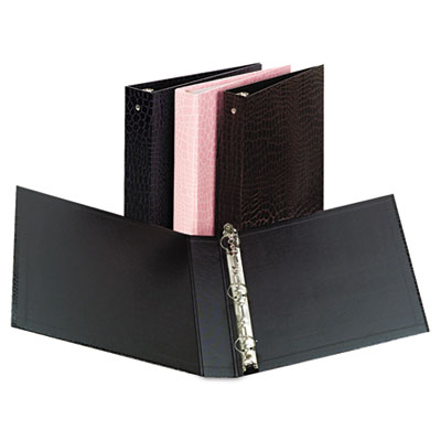 Aurora Products PROformance Crocodile Embossed Ring Binder