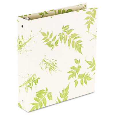 Aurora Products Bamboo Round Ring Binder