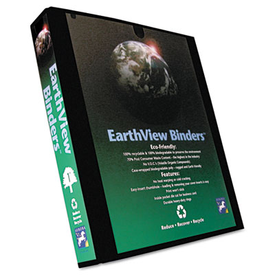 Aurora Products EarthView® Round Ring Presentation Binder