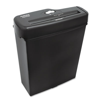 Aurora Light-Duty AS600SB Strip-Cut Paper Shredder