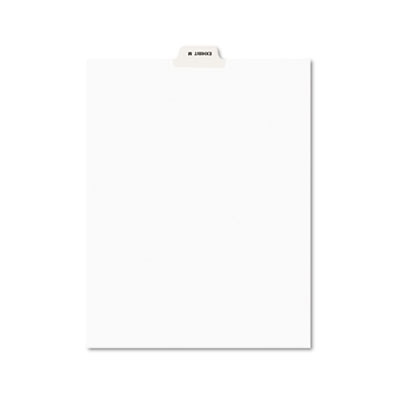 Avery® Legal Index Divider, Exhibit Alpha Letter, Avery® Style