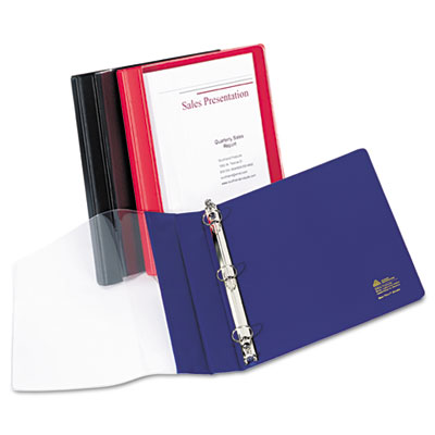 Avery® See-Thru™ View Binder with Round Rings