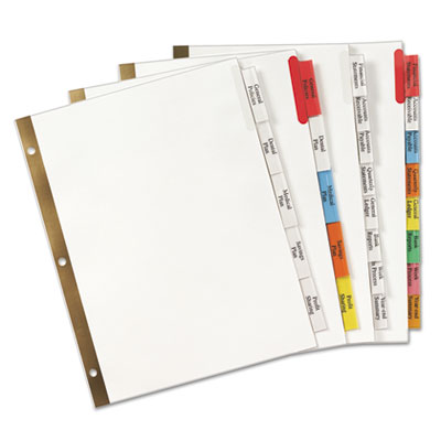 Avery® Insertable Big Tab™ Dividers