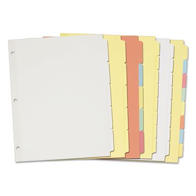 Avery® Write-On Plain-Tab Dividers
