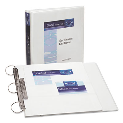 Avery® FlipBack™ 360° Durable View Binder with Round Rings