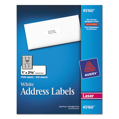 Avery® Shipping Labels with TrueBlock® Technology