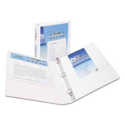 Avery® Showcase Economy View Binder with Round Rings