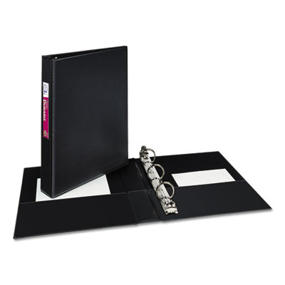 Avery® Mini Size Durable Non-View Binder with Round Rings