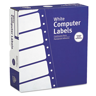 Avery® Dot Matrix Printer Mailing Labels