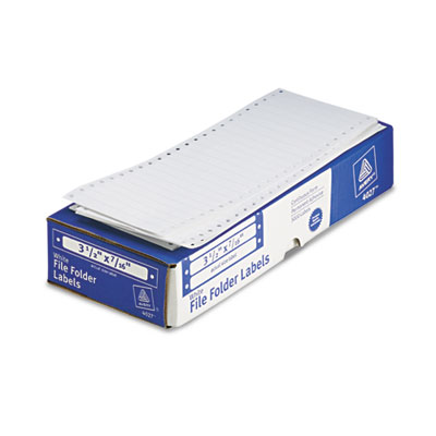 Avery® Dot Matrix Printer File Folder Labels