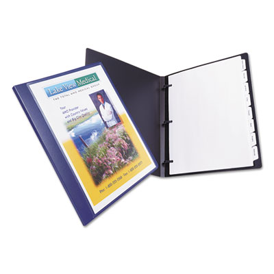 Avery® Lay Flat View Report Cover with Flexible Fastener