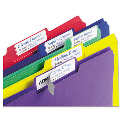 Avery® Extra-Large File Folder Labels with TrueBlock® Technology