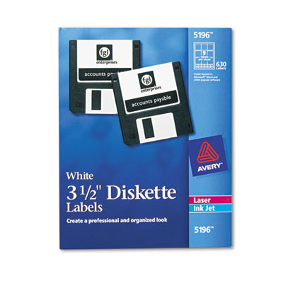 Avery® Diskette Labels