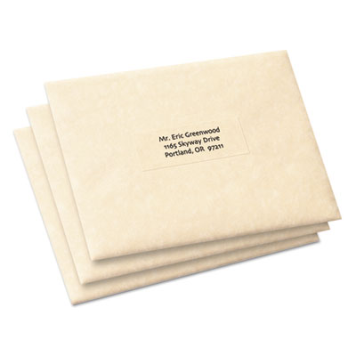Avery® Clear Copier Mailing Labels