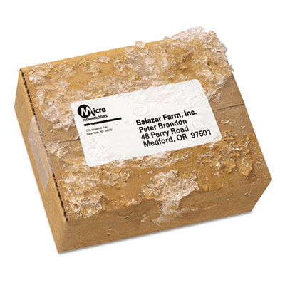 Avery® WeatherProof® Durable Mailing Labels with TrueBlock® Technology